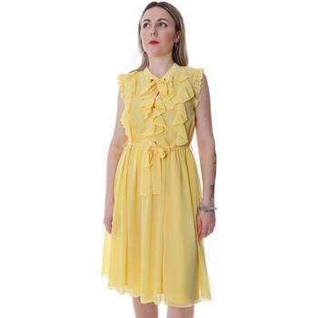 Textiel Dames Korte jurken Fracomina FR20SP536 Geel