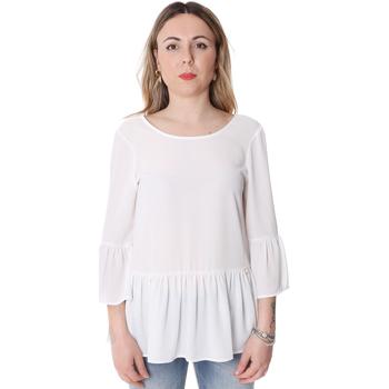 Textiel Dames Tops / Blousjes Fracomina FR20SP040 Wit