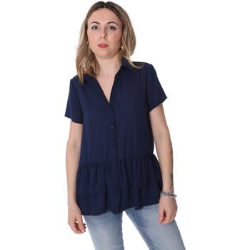 Textiel Dames Overhemden Fracomina FR20SP039 Blauw