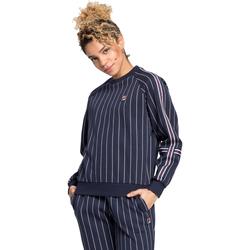 Textiel Dames Sweaters / Sweatshirts Fila 687651 Blauw