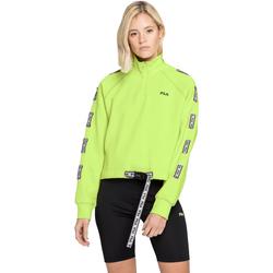 Textiel Dames Sweaters / Sweatshirts Fila 687658 Groen
