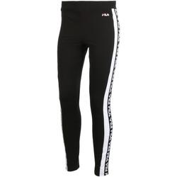 Textiel Dames Leggings Fila 687690 Zwart