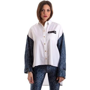 Textiel Dames Overhemden Versace B0HVB606S0683904 Wit