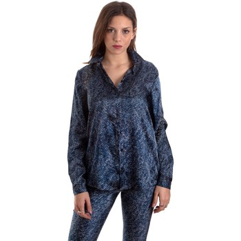 Textiel Dames Overhemden Versace B0HVB601S0683904 Blauw