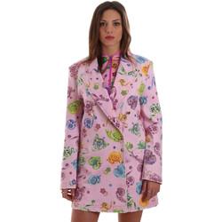 Textiel Dames Jasjes / Blazers Versace C2HVB507SN75SK69 Roze