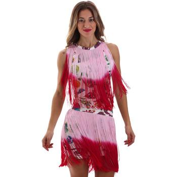 Textiel Dames Korte jurken Versace D2HVB406S0777K67 Wit