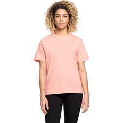 Textiel Dames T-shirts korte mouwen Fila 687469 Rose