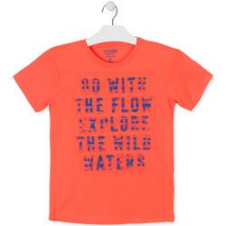 Textiel Jongens T-shirts korte mouwen Losan 013-1005AL Oranje