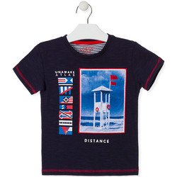 Textiel Kinderen T-shirts korte mouwen Losan 015-1001AL Blauw