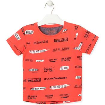 Textiel Kinderen T-shirts korte mouwen Losan 015-1003AL Oranje