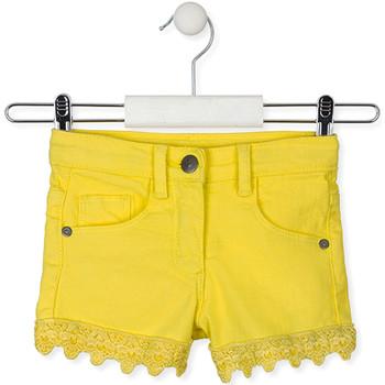 Textiel Kinderen Korte broeken / Bermuda's Losan 016-9001AL Geel