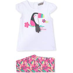 Textiel Kinderen Anzüge und Krawatte Losan 018-8006AL Wit