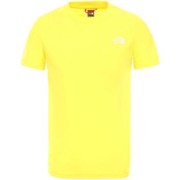 Textiel Kinderen T-shirts korte mouwen The North Face NF0A2WANDW91 Jaune