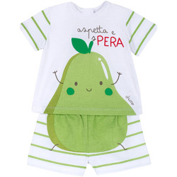 Textiel Kinderen Setjes Chicco 09076381000000 Wit