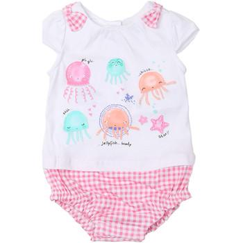 Textiel Meisjes Jumpsuites / Tuinbroeken Chicco 09050812000000 Wit