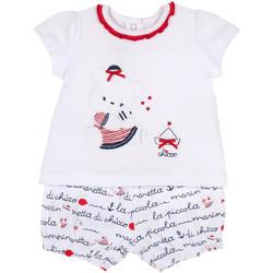 Textiel Meisjes Setjes Chicco 09076458000000 Blanc