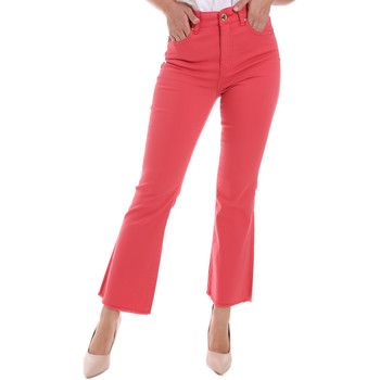 Textiel Dames Bootcut jeans Gaudi 011BD25017 Rood