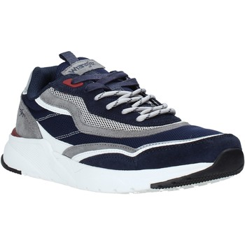 Schoenen Heren Lage sneakers Wrangler WM01111A Bleu