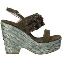 Schoenen Dames Sandalen / Open schoenen Alma En Pena V18350 Groen