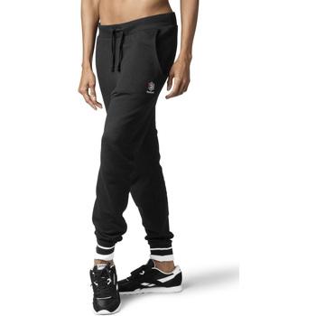 Textiel Dames Trainingsbroeken Reebok Sport DH1410 Noir