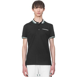 Textiel Heren Polo's korte mouwen Antony Morato MMKS01713 FA100083 Zwart