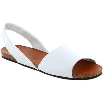 Schoenen Dames Sandalen / Open schoenen Grunland SB1623 Wit