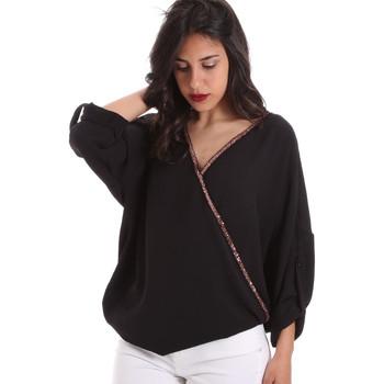 Textiel Dames Tops / Blousjes Gaudi 011BD45026 Zwart