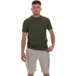 Textiel Heren T-shirts korte mouwen Sseinse ME1548SS Groen