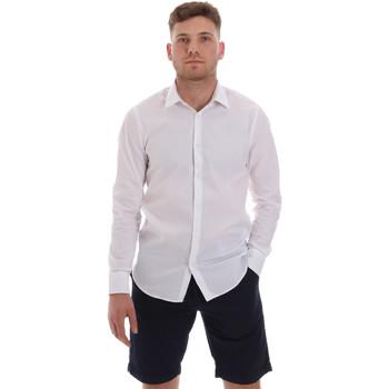 Textiel Heren Overhemden lange mouwen Sseinse CE506SS Wit