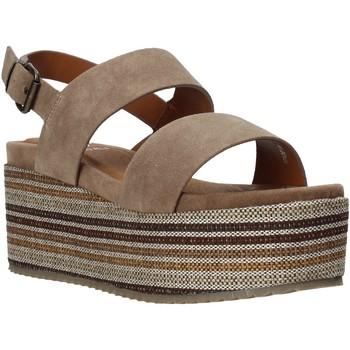 Schoenen Dames Sandalen / Open schoenen Onyx S20-SOX752 Bruin