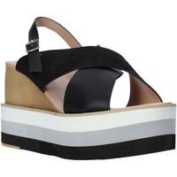 Schoenen Dames Sandalen / Open schoenen Onyx S20-SOX758 Zwart