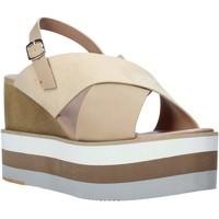 Schoenen Dames Sandalen / Open schoenen Onyx S20-SOX758 Beige