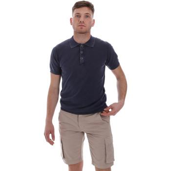 Textiel Heren Polo's korte mouwen Sseinse ME1513SS Blauw