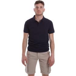 Textiel Heren Polo's korte mouwen Sseinse ME1517SS Blauw