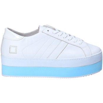 Schoenen Dames Lage sneakers Date W281-MO-LE-WH Wit