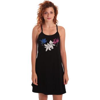 Textiel Dames Korte jurken Key Up 5G30L 0001 Zwart