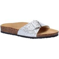 Schoenen Dames Leren slippers Bionatura 05FULLTGSCI3 Grijs