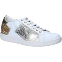 Schoenen Dames Lage sneakers Keys 5531 Wit