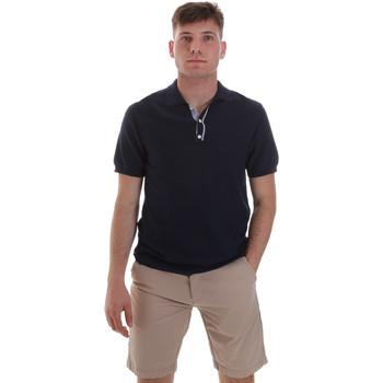 Textiel Heren Polo's korte mouwen Sseinse ME1528SS Blauw
