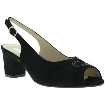 Schoenen Dames Sandalen / Open schoenen Melluso S615 Zwart