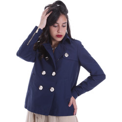Textiel Dames Jasjes / Blazers Gaudi 011BD35013 Blauw