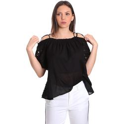 Textiel Dames Tops / Blousjes Gaudi 811FD45011 Zwart