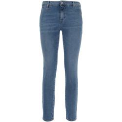 Textiel Dames Skinny jeans Nero Giardini P860221D Blauw