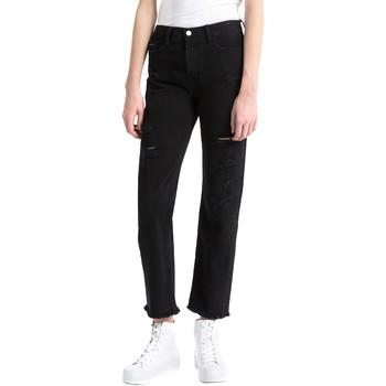Textiel Dames Boyfriend jeans Calvin Klein Jeans J20J207108 Zwart