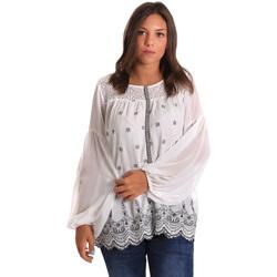 Textiel Dames Tops / Blousjes Smash S1887419 Wit