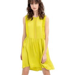 Textiel Dames Korte jurken Fracomina FR20SM545 Geel