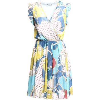 Textiel Dames Korte jurken Fracomina FR20SM562 Blauw