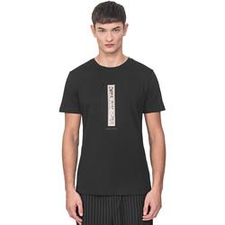 Textiel Heren T-shirts korte mouwen Antony Morato MMKS01766 FA100144 Zwart