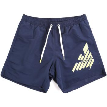 Textiel Heren Zwembroeken/ Zwemshorts Ea7 Emporio Armani 902000 0P724 Blauw