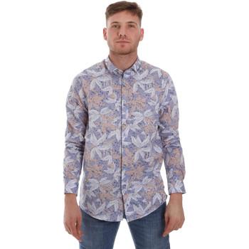 Textiel Heren Overhemden lange mouwen Sseinse CE502SS Blauw